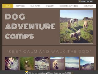 Dog Adventure Camps | Boarding