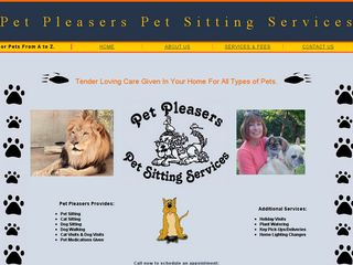Pet Pleasers Pet Sitting Services | Boarding