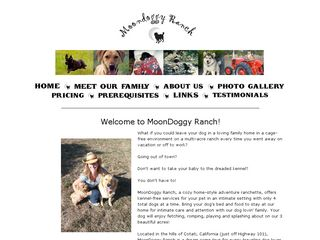 MoonDoggy Ranch | Boarding