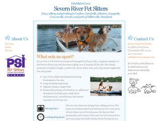 Severn River Pet Sitters Crofton
