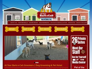 At Your Bark N Call Bed & Bath | Boarding