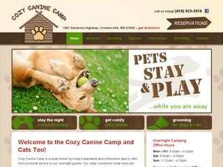 Cozy Canine Camp | Boarding