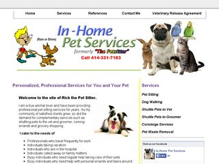 In Home Pet Services | Boarding