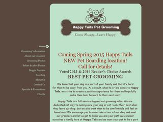 Happy Tails Pet Grooming | Boarding