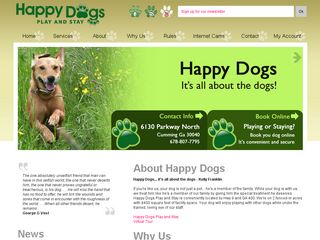 Happy Dogs Play and Stay | Boarding
