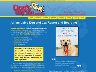 Dogs Day Inn Pet Resorts | Boarding