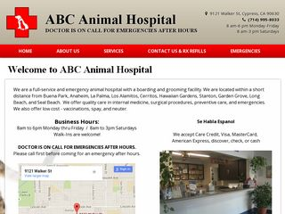 ABC Animal Hospital | Boarding