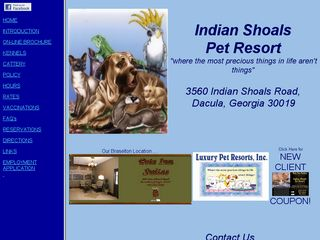 Indian Shoals Pet Resort | Boarding