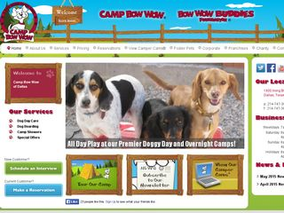Camp Bow Wow Dog Boarding Dallas | Boarding