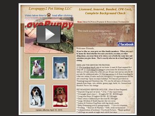 Lovepuppy2 Pet Sitting | Boarding