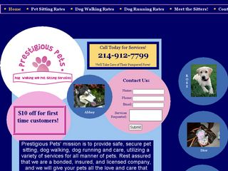 Prestigious Pets Dallas | Boarding