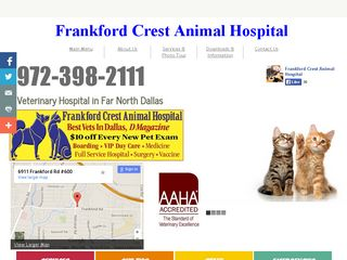 Frankford Crest Animal Hospital Dallas