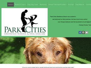 Park Cities Obedience School | Boarding