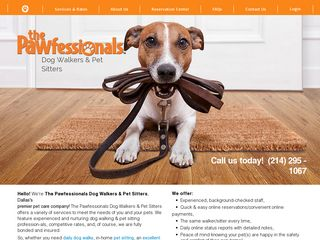 The Pawfessionals Dog Walkers  Pet Sitters Dallas