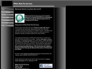 White Rock Pet Services | Boarding