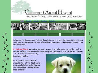 Cottonwood Animal Hospital Dallas