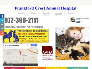 Frankford Crest Animal Hosp Dallas