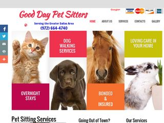 Good Day Pet Sitters | Boarding