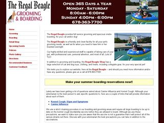 Regal Beagle | Boarding