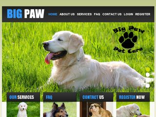 Big Paw Pet Care | Boarding