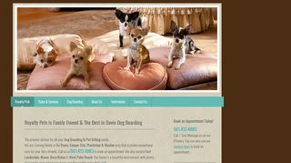 Royalty Pets - Dog Boarding & Pet Sitting - Davie FL - Weston FL - Fort Lauderdale FL Davie