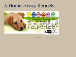 A Home Away Kennels | Boarding