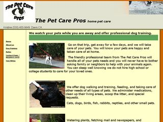 The Pet Care Pros | Boarding