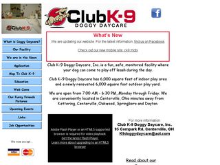 Club K9 Doggy Daycare | Boarding
