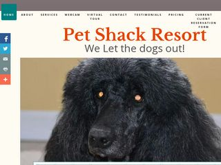 Pet Shack Resort the Dayton