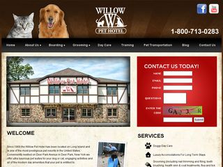 Willow Pet Hotel | Boarding