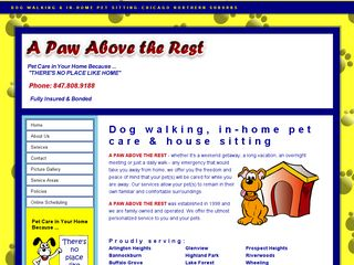 A Paw Above The Rest Deerfield