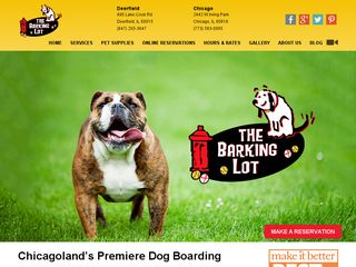 The Barking Lot Deerfield | Boarding