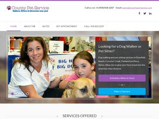 County Pet Service Deerfield Beach