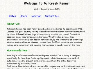 Millcreek Kennel | Boarding