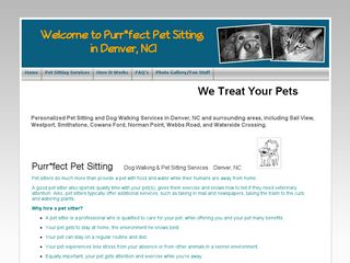 Purrfect Pet Sitting Denver