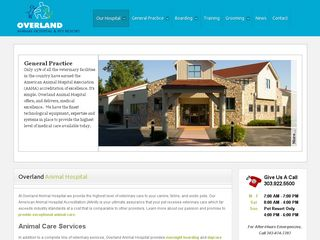 Photo of Overland Animal Hospital in Denver