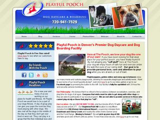 Playful Pooch Dog Daycare and Boarding Denver