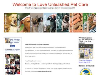 Love Unleashed Pet Care Denver