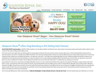 Sleepover Rover Dog Boarding Denver | Boarding
