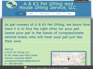 A Ks Denver Pet Sitting and House Sitting | Boarding