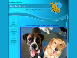 Happy Dog Day Care | Boarding