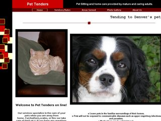 Pet Tenders Pet Sitting Denver