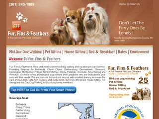 Fur Fins  Feathers Pet Care Services Derwood