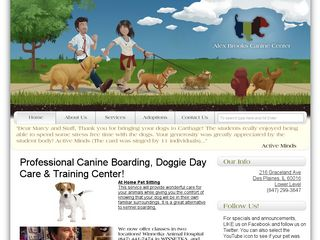 Alex Brooks Canine Center | Boarding