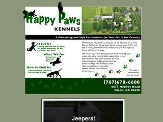 Happy Paws Kennels | Boarding