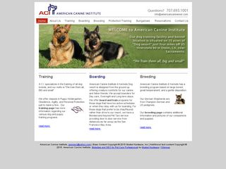 American Canine Institute & Kennel | Boarding