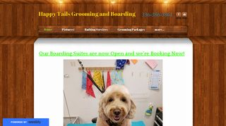 Happy Tails Grooming and Boarding Dobson