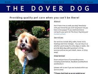 The Dover Dog | Boarding