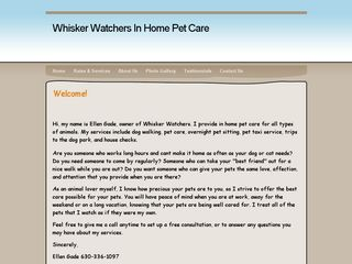 Whisker Watchers in Home Pet Care Downers Grove
