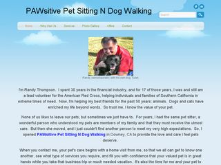 PAWsitive Pet Sitting N Dog Walking Downey